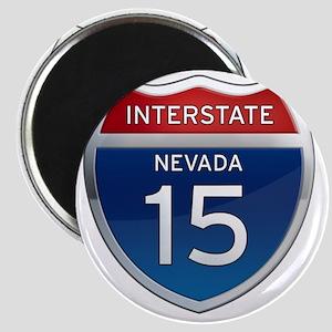Interstate 15 - Nevada Magnet