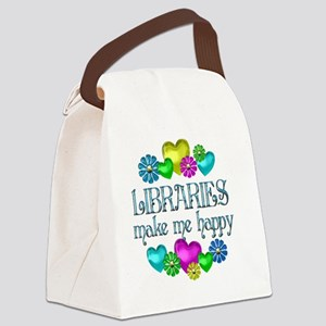libraries Canvas Lunch Bag