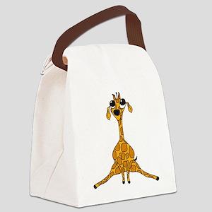 rhartGiraffe3 Canvas Lunch Bag