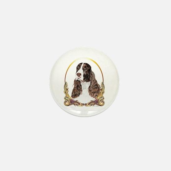 English Springer Spaniel Christmas Mini Button