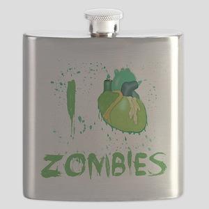 I love zombies2 Flask