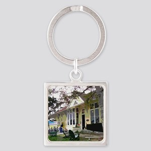 The Pannikin Square Keychain
