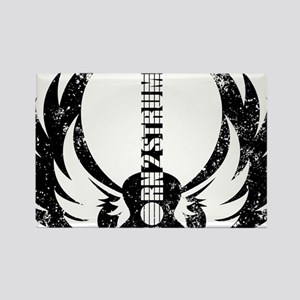 Born 2 Strum Ukulele Rectangle Magnet
