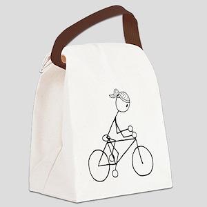 biker5 Canvas Lunch Bag