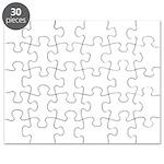 Plain blank Puzzle