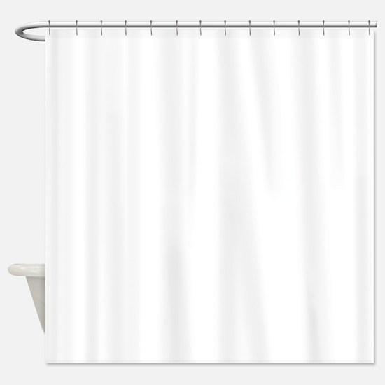 Plain blank Shower Curtain