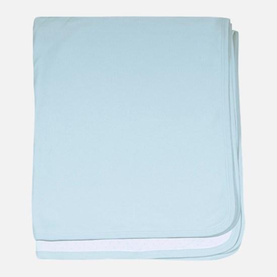 Plain blank baby blanket