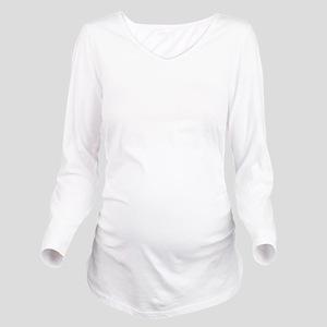 Plain blank Long Sleeve Maternity T-Shirt