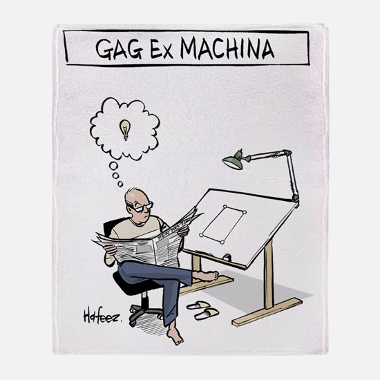 Gag ex Machina Logo II Throw Blanket