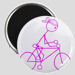 biker pink Magnet