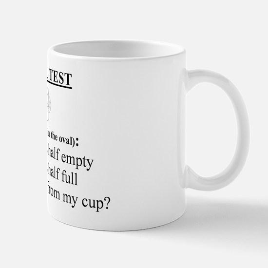 Mug - pessimist glass