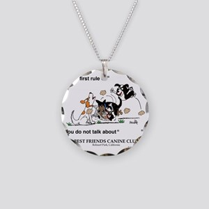 BFCC-RUMBLE Necklace Circle Charm