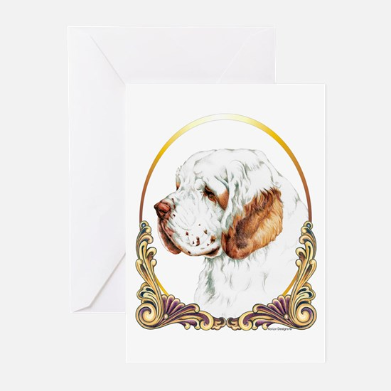 Clumber Spaniel Christmas/Holiday Greeting Cards (