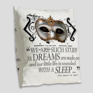 tempest-blanket Burlap Throw Pillow