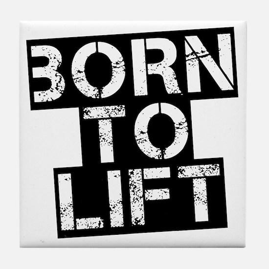 born-to-lif-bt Tile Coaster