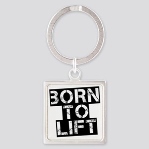 born-to-lif-bt Square Keychain