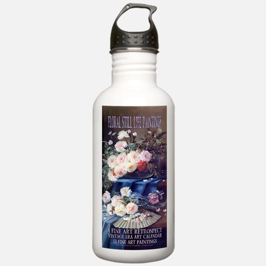 1 A FloralStillLife-CA Water Bottle