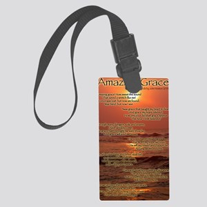 AmazinggraceV2 Large Luggage Tag