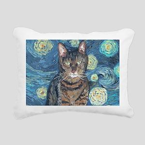 MUGStarryCat Rectangular Canvas Pillow