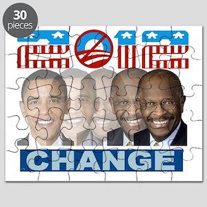 herman cain 2012 change Puzzle