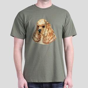 American Cocker Spaniel Dark Colored T-Shirt