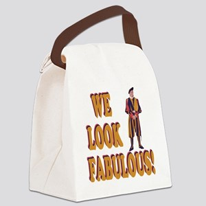 Swiss Guard We Look Fabulous! Canvas Lunch Bag