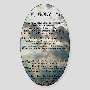 holyV Sticker (Oval)