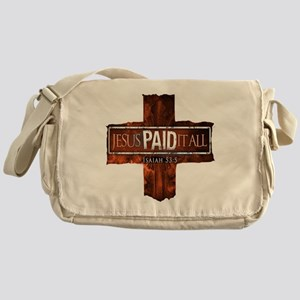 Jesuspaidhuge2 Messenger Bag