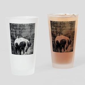 The Paint RWBsm Drinking Glass