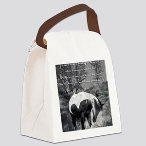 The Paint RWBsm Canvas Lunch Bag