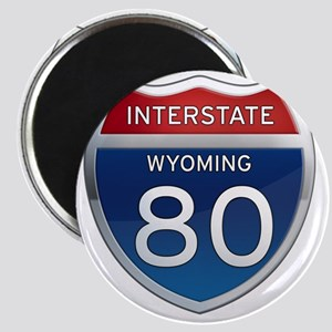 Interstate 80 - Wyoming Magnet