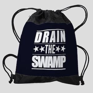 Drain the Swamp Drawstring Bag