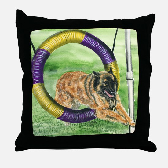 bel terv  agility Throw Pillow