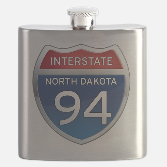 Interstate 94 - North Dakota Flask