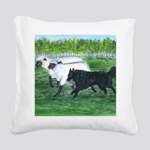 bel shep herd Square Canvas Pillow