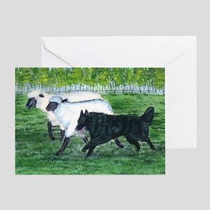 bel shep herd Greeting Card