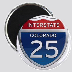 Interstate 25 - Colorado Magnet