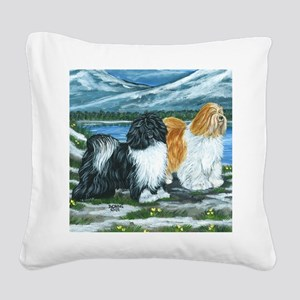 tib ter Square Canvas Pillow