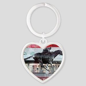 Barbaro 2 Heart Keychain