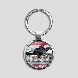Barbaro 2 Round Keychain