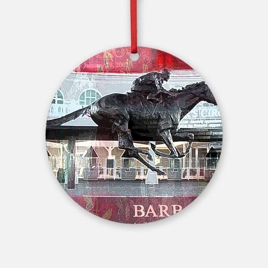 Barbaro 2 Round Ornament