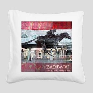 Barbaro 2 Square Canvas Pillow