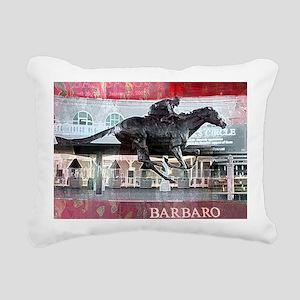Barbaro 2 Rectangular Canvas Pillow