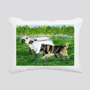 bel terv herd Rectangular Canvas Pillow