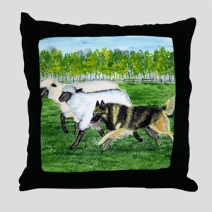 bel terv herd Throw Pillow