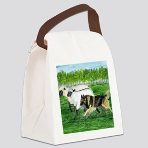 bel terv herd Canvas Lunch Bag