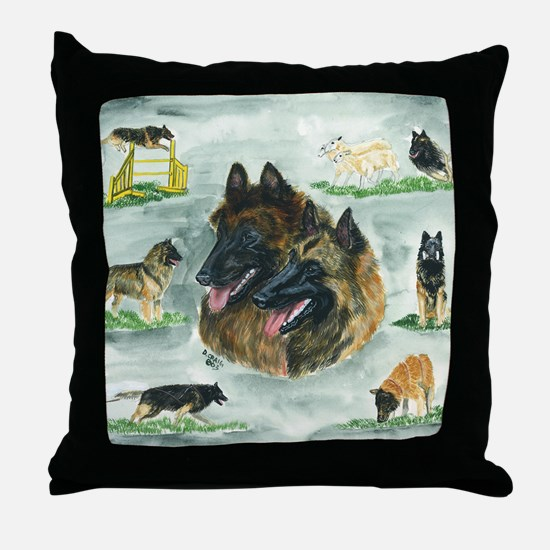bel terv versatility Throw Pillow