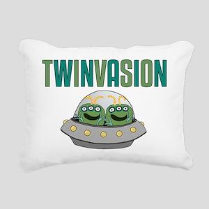 TWINVASION11a Rectangular Canvas Pillow
