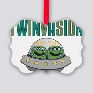 TWINVASION11a Picture Ornament