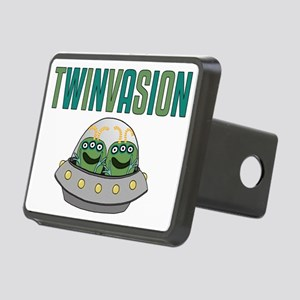 TWINVASION11a Rectangular Hitch Cover